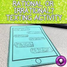 rational vs irrational numbers by idea galaxy tpt