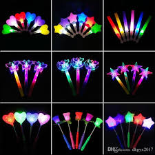 glow sticks creative led light sticks glow stick smiling five pointed