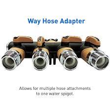 Faucet Splitter Valve Splitter Hose Adapter Spigot Faucet Connector Multiple