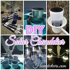 Diy Solar Light by Fantastic Solar Chandelier For Home Design Ideas With Solar