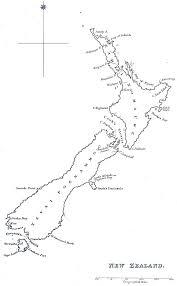 New Zealand Map Historical Map New Zealand 1832 U2022 Mapsof Net