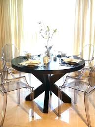 modern circular dining table round wood dining room table beautyconcierge me