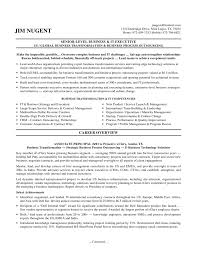example of executive resume resume example and free resume maker