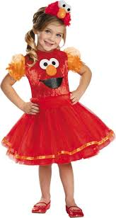 Toddler Halloween Costumes Girls Toddler Girls Elmo Tutu Costume Deluxe Sesame Street Party