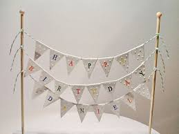 cake banner topper best 25 bunting cake toppers ideas on cake banner