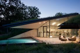 architecture spectacular underground house employing ultramodern