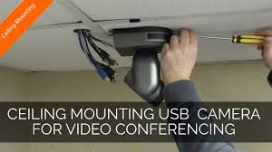Logitech C920 Wall Mount Ceiling Mounting Usb Video Conferencing Cameras Youtube