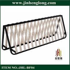 Bed Frame Lowes Lowes Metal Folding Strengthen Wooden Slats Bed Frame View Metal