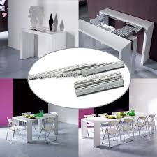 telescoping table extruded aluminum extension telecoping table slide view aluminum