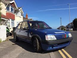 cheap used peugeot peugeot 205 gti uk cheap used cars