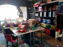 How To Organize Craft Room - craft room tour machine embroidery sewing paper crafting