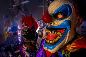 halloween clown background creepy clowns invade long island cause lockdowns new