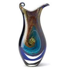 reid goods galaxy art glass vase