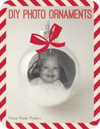 home made modern how to make personalized ornaments