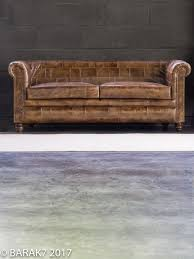 Chesterfield Sofa Patchwork Industrial Furniture Patchwork Leather Chesterfield Sofa 3