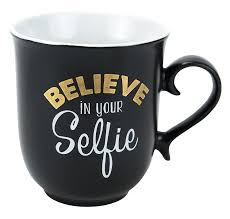 amazon com boston warehouse believe in your selfie 18 ounce