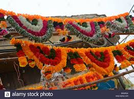 diwali festival of light decorations on sale in a market in