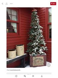 artificial tree in front porch hometalk