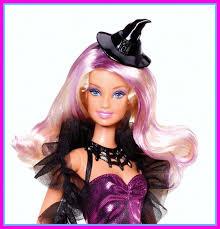 halloween barbie doll cute scrap layout by evelyn regly
