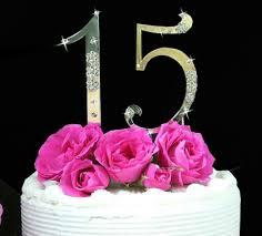 french flower large sweet 15 u0026 sweet 16 cake topper set