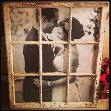 diy photo hung behind old window frame diy pinterest photo