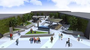 Park Design Ideas Elevations Urban Landscape Design Inc Bathroom Design 2017 2018