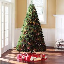 time 7 pre lit douglas fir artificial tree multi