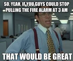 Spider Fire Alarm Meme - funny for pulling fire alarm funny images www funnyton com