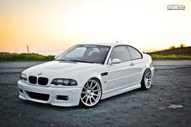 bmw m3 stanced bmw e46 m3 featuring ksport true rear integrated coilover system