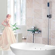 Cheap Bathroom Faucets by Online Get Cheap Waterfall Bath Faucet Aliexpress Com Alibaba Group