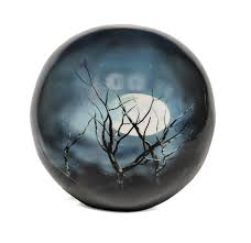 urn for human ashes midnight moon sphere of cremation urn buy midnight