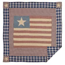 American Flag Bedding Country Bedding Independence Quilted Bedding