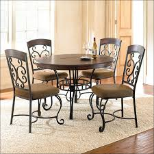 Wrought Iron Kitchen Tables by Kitchen Tall Kitchen Table Round Table And Chairs Metal Dining