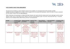 health risk assessment template human health risk assessment