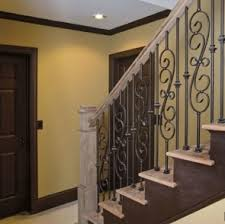 staircase 4b with tapered box newel and balusters alternating