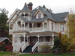 grey roof of old victorian house images combined with white off wall and small terrace it also has black stairs and some elegant yard design ideas jpg