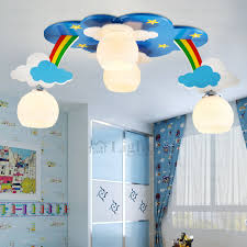 Light Cloud Shaped Kids Room Ceiling Lighting - Lights for kids room