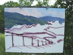 vineyard patterns u201d an oil painting demonstration by jennifer young