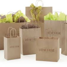 bags with bows customizable packaging cw print design