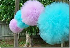 tulle pom poms tulle pom poms tutorial these diy and pretty pom poms made