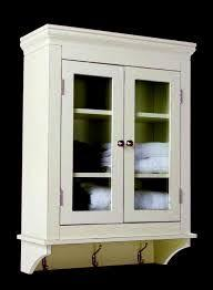Wall Cabinet For Bathroom Alluring Antique White Bathroom Wall Cabinet With Tremendous Old