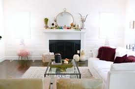 Glam Coffee Table by Glam Farmhouse Fall Home Tour