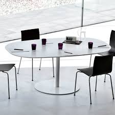 Large Oval Boardroom Table Contemporary Boardroom Table Wooden Metal Oval Rondo U0027 By