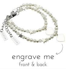 personalized bracelets for personalized and bracelets set kaya jewellery uk