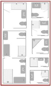 bathroom floor plans small visual guide to 15 bathroom floor plans bathroom plans third