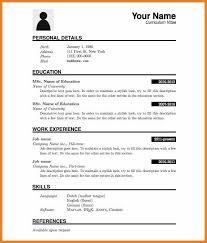 Resume Download Resume Format Word Download Inspiration Decorationdownloadable