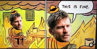 Everything Is Fine Meme - game of thrones 23 best reactions to the most recent episode