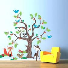 garden wall decal tree sticker flower stickers bird stickers
