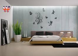 love hearts and butterflies wall stickers