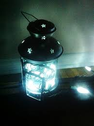 battery operated fairy lights ikea lights in a tea light lantern could be a nifty thing with battery